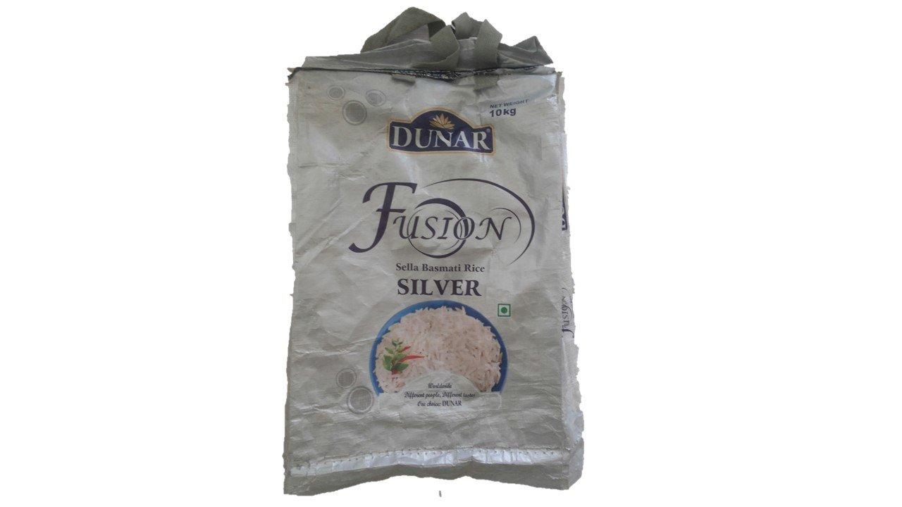 Dunar Fusion Sella Basmati Silver 10kg Amazon Grocery