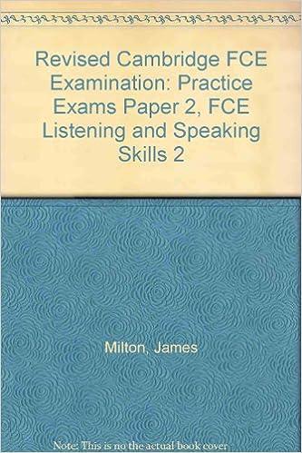 Fce Listening Speaking Skills 2 Teachers Book