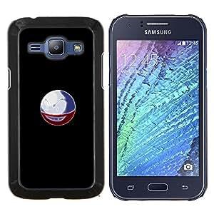 TECHCASE---Cubierta de la caja de protección para la piel dura ** Samsung Galaxy J1 J100 ** --Meter la bola del monstruo