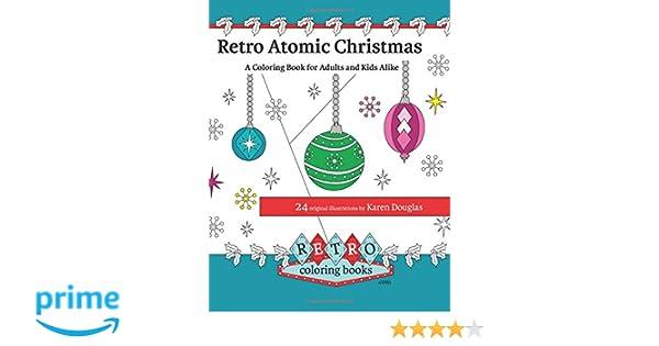Amazon.com: Retro Atomic Christmas Coloring Book - A ...