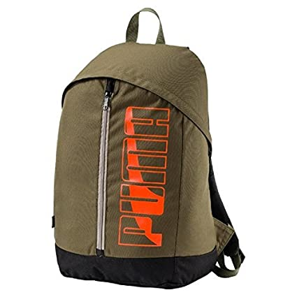 cc1dc88d86ca Puma 21 Ltrs Olive Night Laptop Backpack (7471804)  Amazon.in  Bags ...