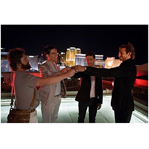 The Hangover Ed Helms Zach Galifianakis Bradley Cooper - Ceasar Palace Las Vegas