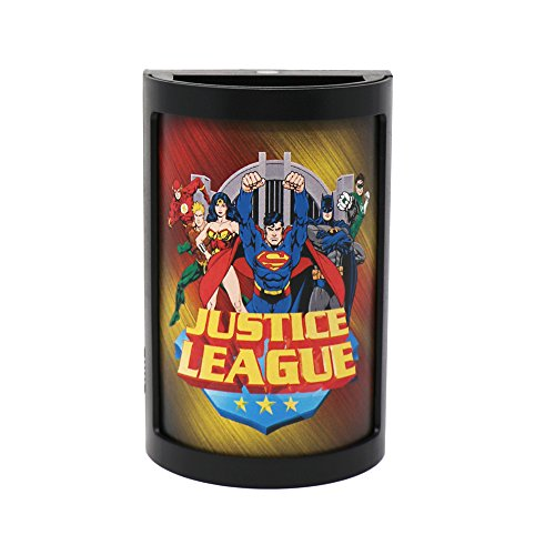 Party Animal DC Comics LED Night Light, 5'' x 3'', Justice League by Party Animal