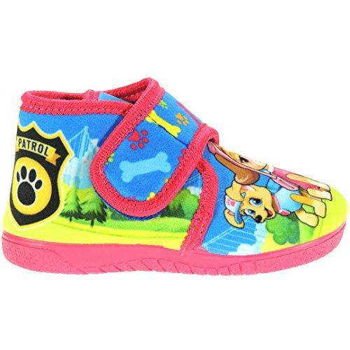 Calzados Romero alcalde. Zapatillas De La Patrulla Canina Abotinadas - Modelo 14000 Azul