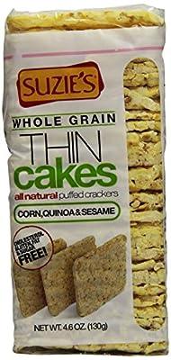 Suzie's Corn, Quinoa & Sesame Thin Cakes, 4.5 oz