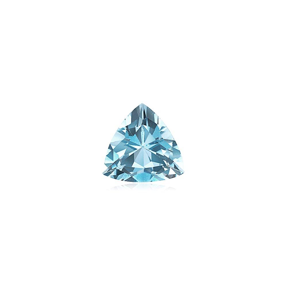 2.20-2.77 Cts of 10 mm AAA Trillion Aquamarine ( 1 pc ) Loose Gemstone