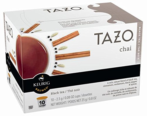 Tazo Chai Black Tea K-Cup, 10 ct (Pack of 6) by TAZO (Image #3)
