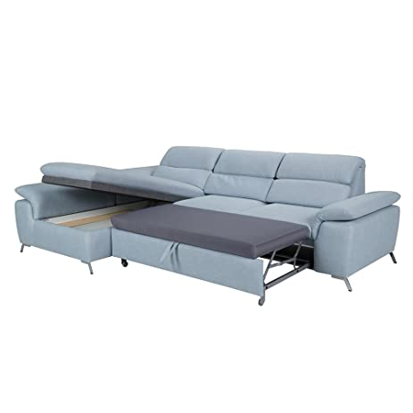 sectional sofa bed with storage. Sectional Sofa-Bed Transformer (Left) With Storage Room. Easy To Transform Sofa Bed