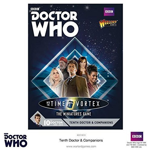 Doctor Who Tenth Doctor & Companions Set for Exterminate! The Miniatures Game