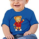 Boxer98 Baby's T Shirt For Girls&Boys - Cartoon Cute Daniel RoyalBlue