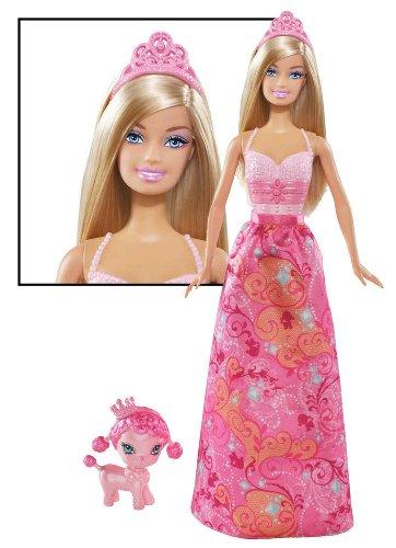 Barbie Princess and Pet Barbie Doll