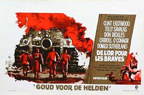 Movie Posters Kelly's Heroes - 27 x 40