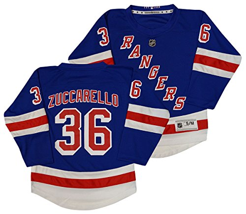 - NHL New York Rangers Youth Boys Replica Home-Team Jersey, Large/X-Large, Marathon Blue