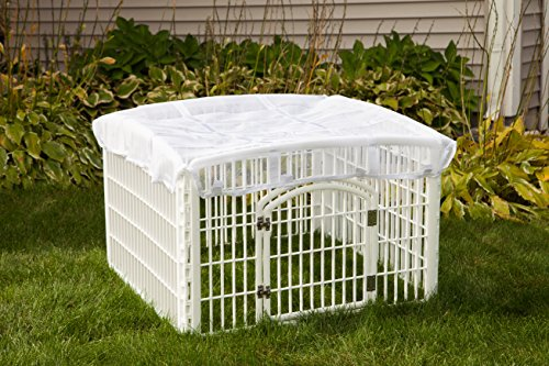 IRIS Mesh Security Roof, designed for use with the IRIS 24'' 4-Panel Pet Playpen by IRIS USA, Inc. (Image #2)