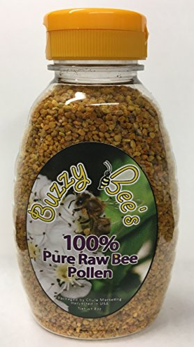 Natural Raw Whole Bee Pollen Granules, GMO, Gluten, Chemical Free, Never Heated or Pasteurized, No additives, NOT FROM CHINA, Nature