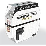 """2"""" Kinesio® Tex Gold W/R Black FP Bulk"""