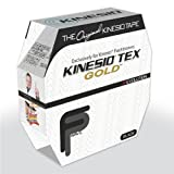 fabrication enterprises Kinesio Tape, Tex Gold FP (Black)