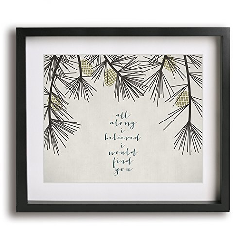 A Thousand Years | Christina Perri inspired wedding song lyric art print - unique first paper anniversary gift idea