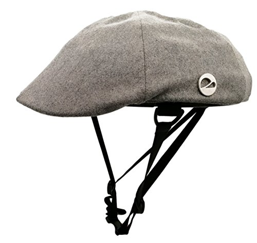 Closca Turtle Foldable,Removable,Washable Helmet,City Leisure Commuting Mountain Cycling Winter Helmet (Gray, L)