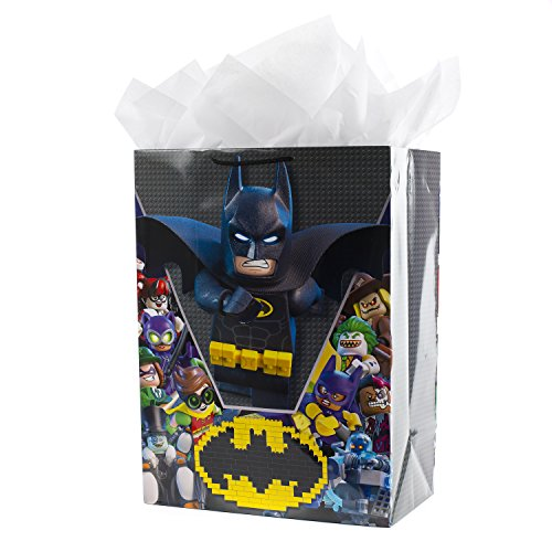 Hallmark Oversized Lego Gift Bag with Tissue Paper (Lego -
