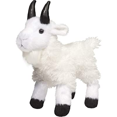 Douglas Maggie Mountain Goat Plush Stuffed Animal: Toys & Games