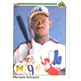 1990 Upper Deck # 9 Marquis Grissom Montreal Expos Baseball Card