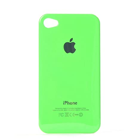 Para iPhone 4 4S Funda Carcasa Cristal Duro Air Jacket Parte ...