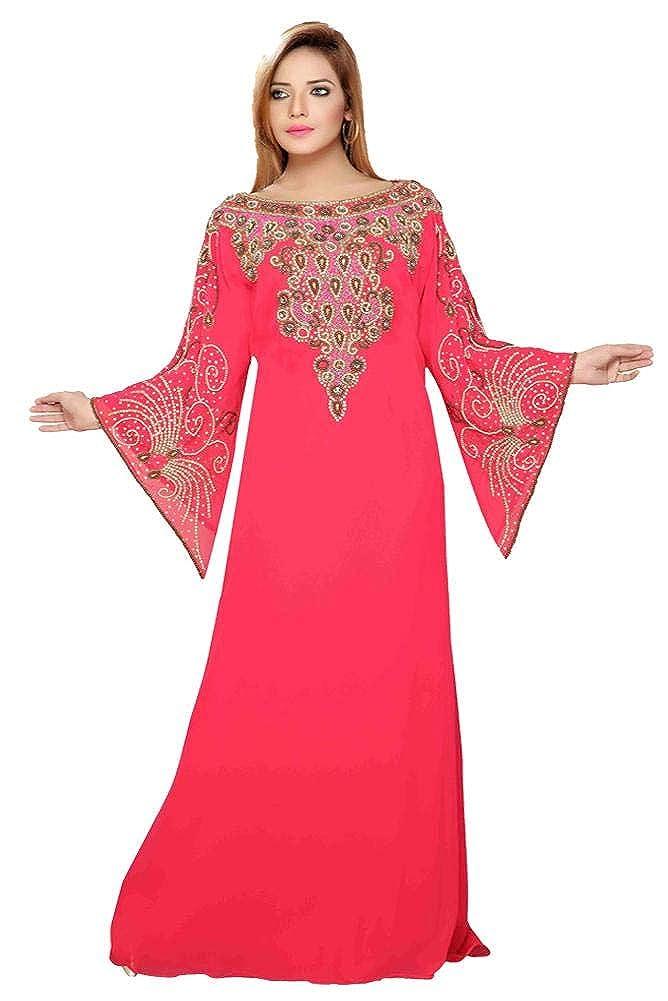 Arabic attire Women's Bell Sleeve Boat neak Women Kaftans