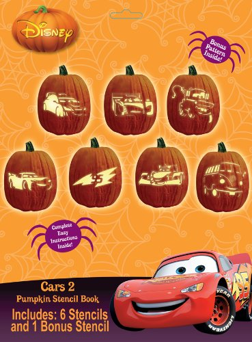 Paper Magic Group Disney's Cars 2 Stencil Book, Pack of 24 -
