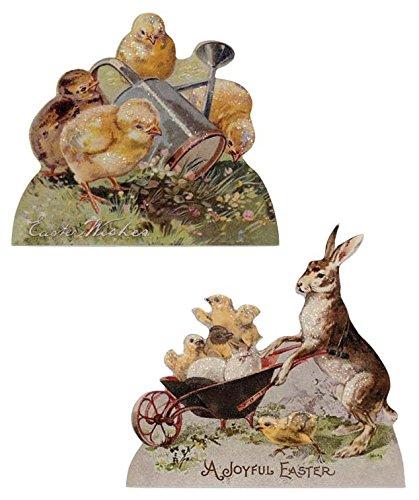 Amazon.com: Bethany Lowe conejo de Pascua y pollito Dummy ...