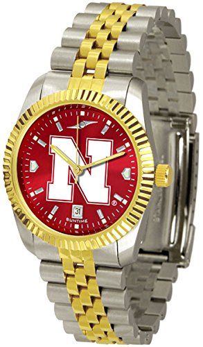 NCAA Nebraska Cornhuskers Men's Executive AnoChrome Watch by Football Fanatics