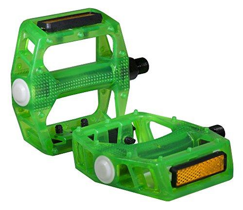Pedal Axle (Bike Pedal Translucent Green 1/2