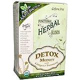 Mate Factor Functional Herbal Blends Detox Medley with Turmeric 20 Bag
