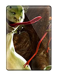 Snap-on Alien Creature Case Cover Skin Compatible With Ipad Air
