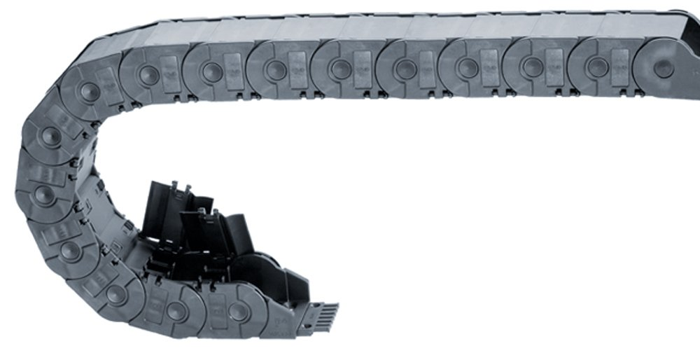 Polymer Igus 3480-115-125-0 Energy Chain Cable Carrier Hinge-Open Tube 1.77 Inner Height 4.53 Inner Width 2ft Chain Length 1.77 Inner Height 4.53 Inner Width 2ft Chain Length 1.65 Max Cable Diameter