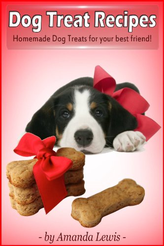 Book: Dog Treat Recipes by Amanda Lewis