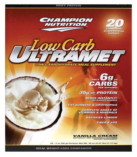 Champion Nutrition UltraMet Vanilla Packets
