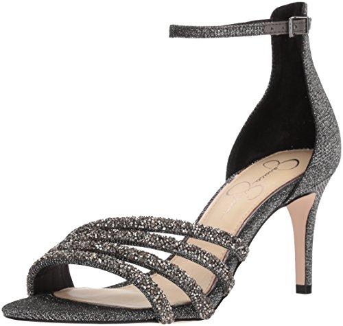 Jessica Simpson WoMen Paveny Heeled Sandal Pewter Multi