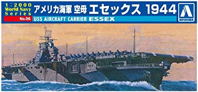 AOSHIMA 009376 1/2000 USS Aircraft Carrier Essex