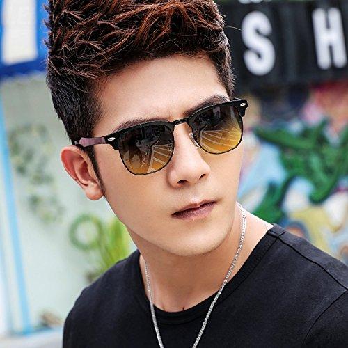Vidrios Anti Gafas de Conducción 5 Gafa YQQ UV Color De sol De Reflexivas 2 De Gafas De HD Polarizados Sol Gafas Gafas Deporte Sol Hombre 8TRpqw