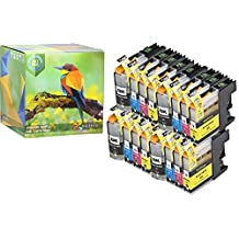 Ink Hero 16 Pack High Yield Cartridges for Brother LC-103 DCP J152W MFC J245 J285DW J4310DW J4410DW J450DW J4510DW J4610DW J470DW J4710DW J475DW J650DW J6520DW J6720DW J6920DW J6920DW J870DW J875DW