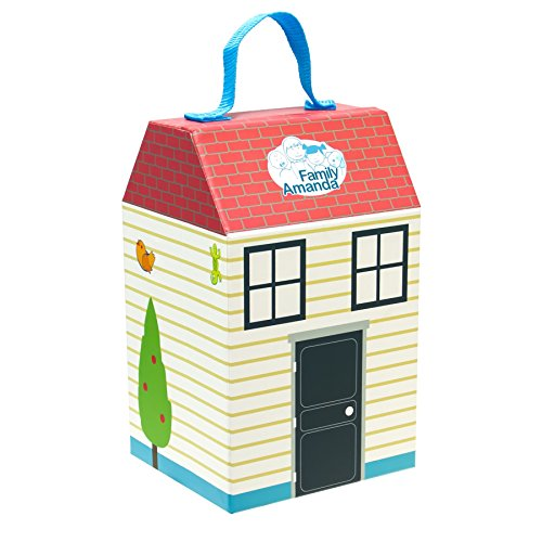 itsImagical Amanda Carry-Case - Casita de muñeca portátil, unisex: Amazon.es: Bebé