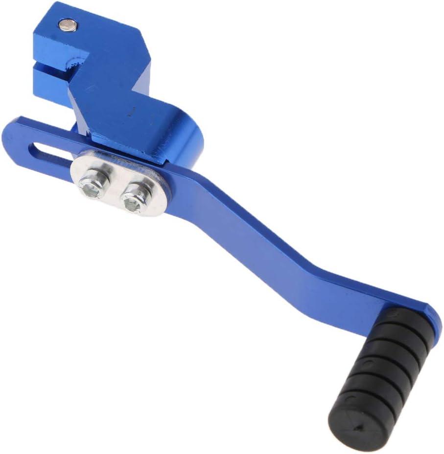 Blau B Baosity Motorrad 12cm Schalthebel Schaltpedal f/ür 110cc 125cc Dirtbike Pitbike