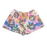 Confetti and Friends Fuzzy Plush Shorts - Unicorn - 7/8