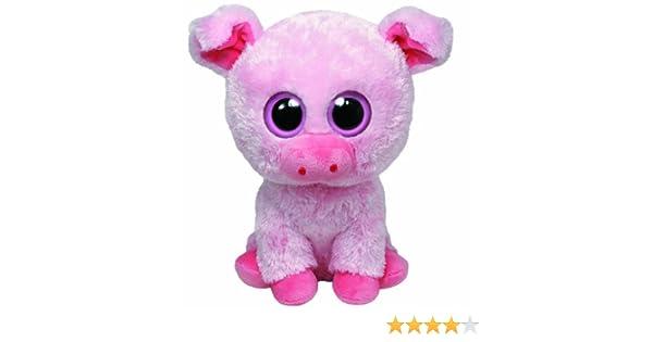 Unbekannt TY 36953 - Corky Buddy - Cerdito de peluche (15,2 x 12,7 x 33 cm), color rosa: Amazon.es: Juguetes y juegos