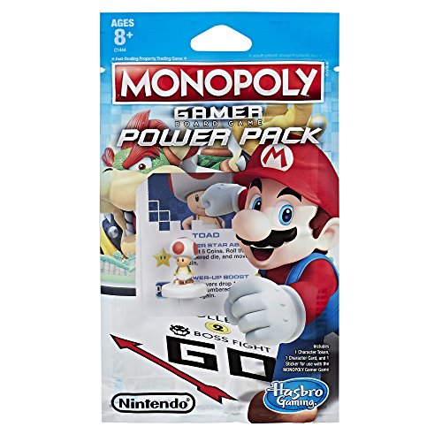 Monopoly Gamer Power Pack eComm Bundle #2 including Rosalina, Toad, and Fire Mario