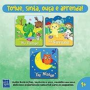 Coleção Toque, Sinta, Ouça E Aprenda. 3 Livros Com Lindas Ilustrações, Texturas E Sons. Deliciosa Experiência