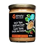 Simply West Coast Seafood Jarred Spicy Thai Seafood Soup, 400ml