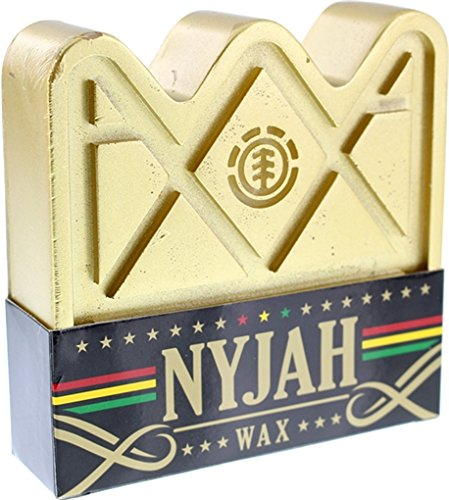 Element Skateboards Nyjah Huston Crown Gold Skate Wax by Element (Image #1)