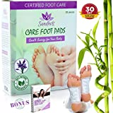 Premium Body Cleanse Foot Pads - Stress, Pain and Constipation Relief - Improved